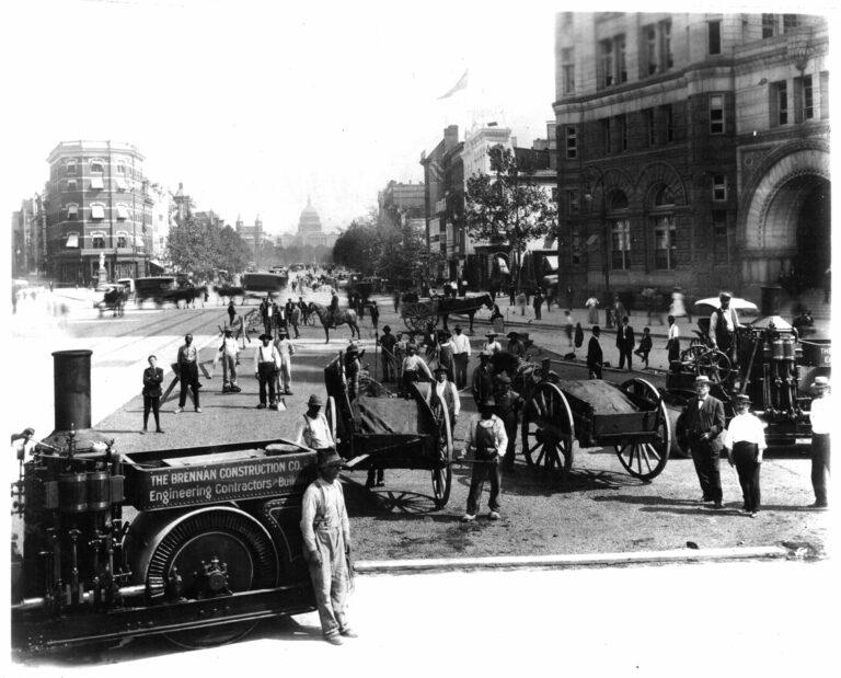 1900-1909 Construction