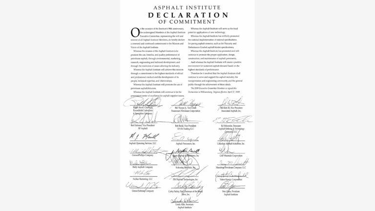 Declaration of Commitment