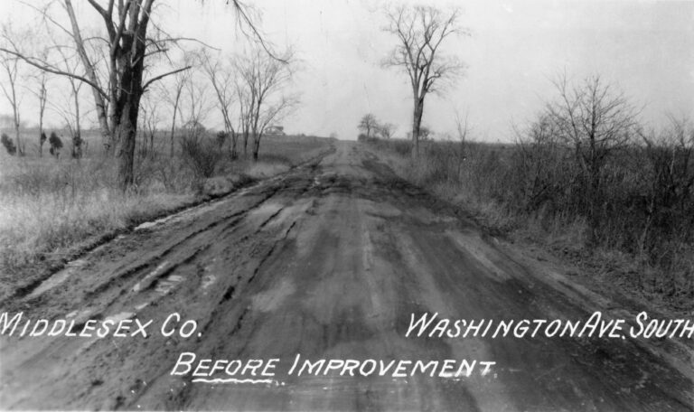Washington Ave. South, Middlesex County
