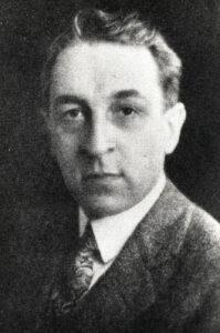 Leroy M Law - AI Chair 1926
