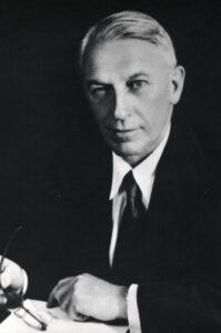 H B Pullar - AI Chair 1945