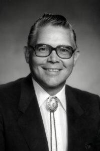 Elmer V Peterson - AI Chair 1986