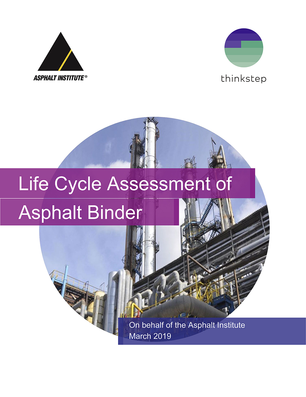 LCA Study on Asphalt Binders
