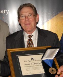 "Distinguished Service Award - Jacob ""Jake"" C. Swygert"