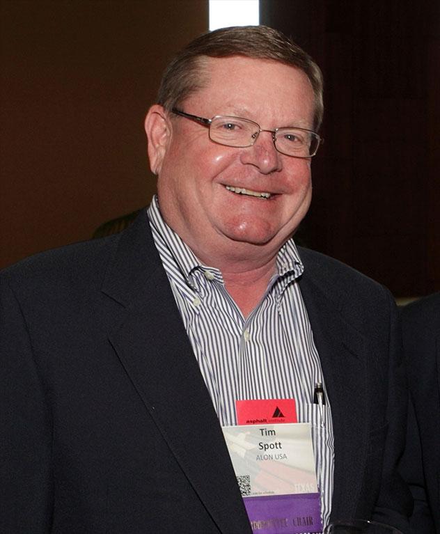 Distinguished Service Award - Timothy Spott