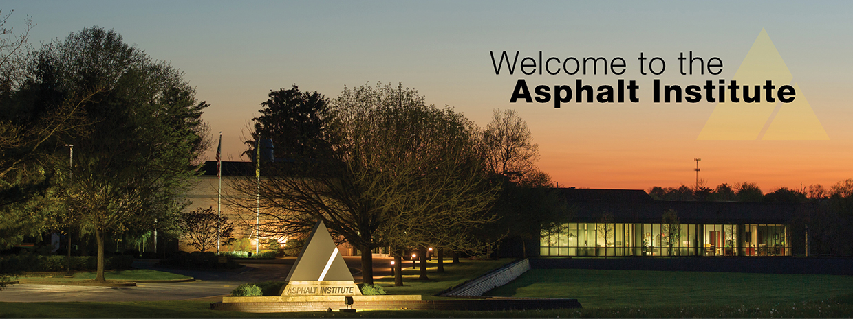 Welcome to the Asphalt Institute